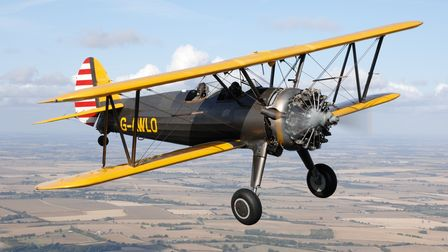 The Boeing Stearman is just one of the aircraft at this year's gransden airshow.