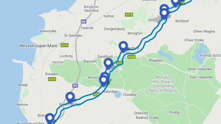 Summary of the proposed A38 schemes