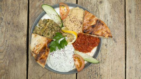 Turkish Mezze at The Gipsy Queen