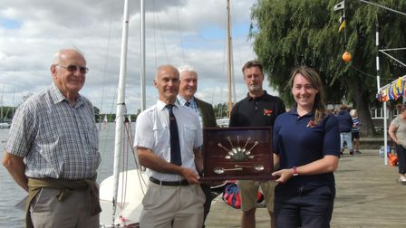 Horning Sailing Club has beenawarded the Martin Broom Trophy
