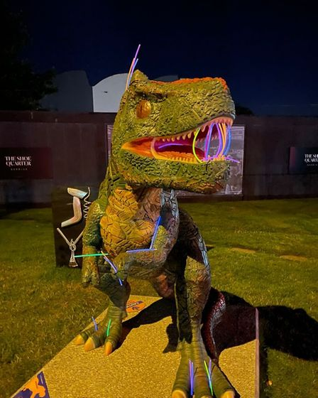 Jurassic Dark runs from September 3 to 5 and you can choose a five or ten mile challenge.