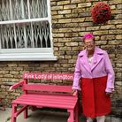 Ann Tricks, who was known as the Pink Lady of Islington