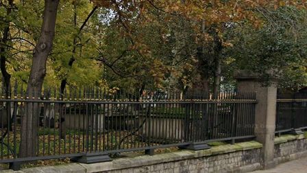 Bunhill Fields, a former burial ground in City Road