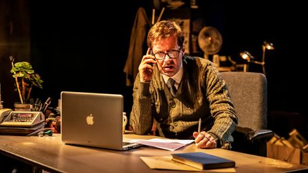 Will Barton in When Darkness Falls at Park Theatre, Finsbury Park