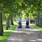 Summer during August 2021Families enjoy the weather in Eaton ParkByline: Sonya Duncan