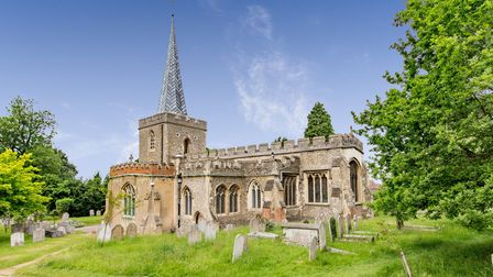 St Nicholas Church, which is the oldest building in Stevenage. Picture: Trevor Coultart