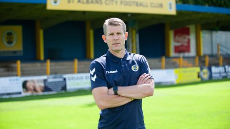Dean Austin, new director of football at St Albans City FC.