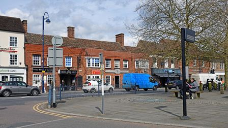 St Neots High Street is to benefit from the Future High Streets Funding.