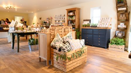 The new shop at Markshall Estate is ready to open!