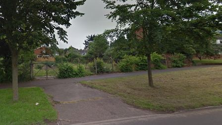 The site of the former scout hut off Dereham Road in Norwich