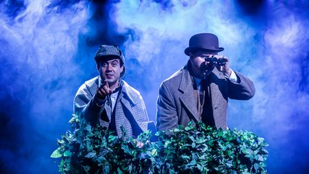 Scene from the Hound of the Baskervilles (previous cast)
