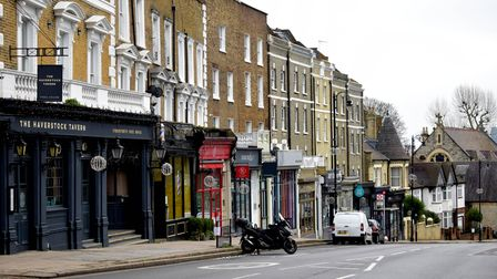 There are proposals for a cycle lanes on Haverstock Hill