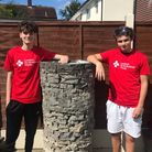 FriendsMatthew Smith (left)and Alfie Scott (right)are skydiving to raise money for the London Air Ambulance this Saturday.