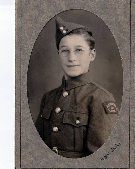 Mr Daykin worked on a farm before joining the army
