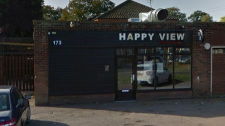 Happy View Chinese on Earlham Green Lane.