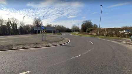 A road rage incident occurred at the Smallford roundabout on August 23.