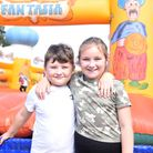 Layla and Finlay. Chantry park fun day Ipswich Picture: CHARLOTTE BOND