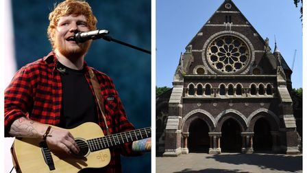 Ed Sheeran filmed his Visiting Hours music video at St Stephen's Rosslyn Hill