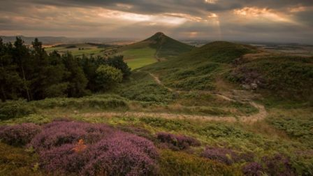 The approach to Roseberry Topping