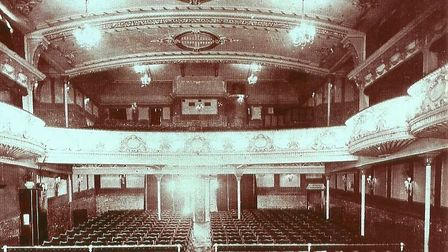 A glimpse inside the Electric Theatre on Prince of Wales Road, Norwich.