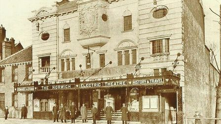 The wonderful old Electric Theatre which opened on Prince of Wales Road, Norwich