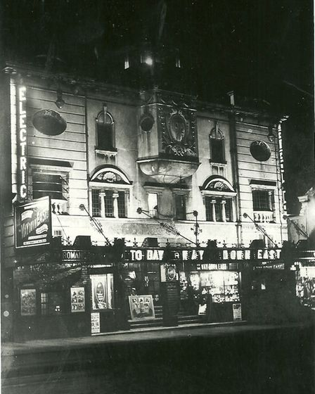 The Norwich Electric Theatre at night