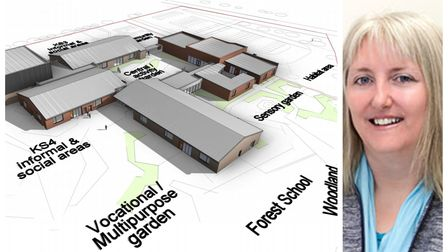 Executive head Dr Kim Taylor is inviting thoughts on proposals for a new special school for Wisbech.
