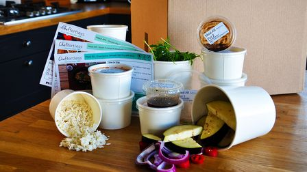 Meal boxes and recipes from Cheffortless, St Neots