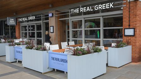 The Real Greek at Chantry Place in Norwich. Picture: Danielle Booden