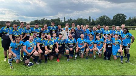 St Albans Centurions hosted a day celebrating 50 years of rugby league in Hertfordshire and the life of Tony Bottomley.
