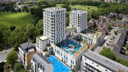 Tiger Way is a mixed-use development in Hackney Downs.