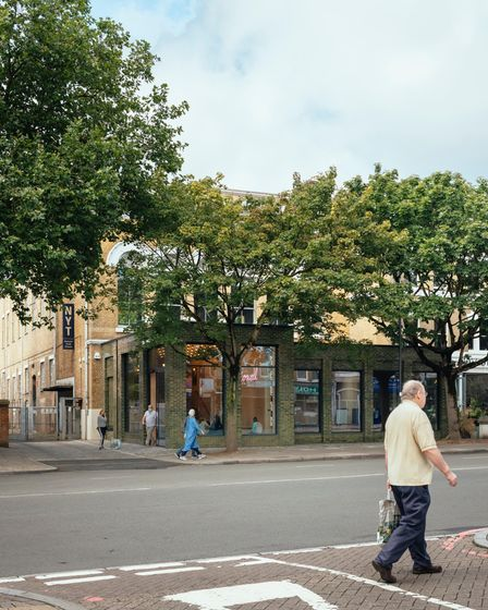 The National Youth Theatre's revamped Holloway Road HQ is now more visible from the street