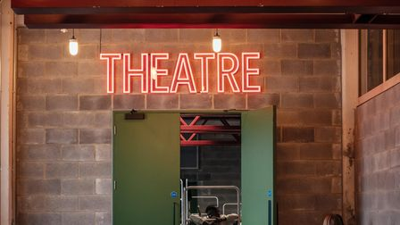 The new 250-seat theatre at the National Youth Theatre's new Holloway Road HQ