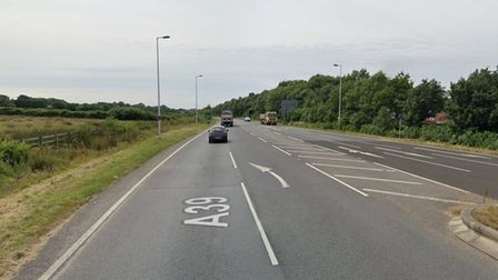 The incident took place on the A39 between Barnstaple and Bideford, near to the Brynsworthy junction