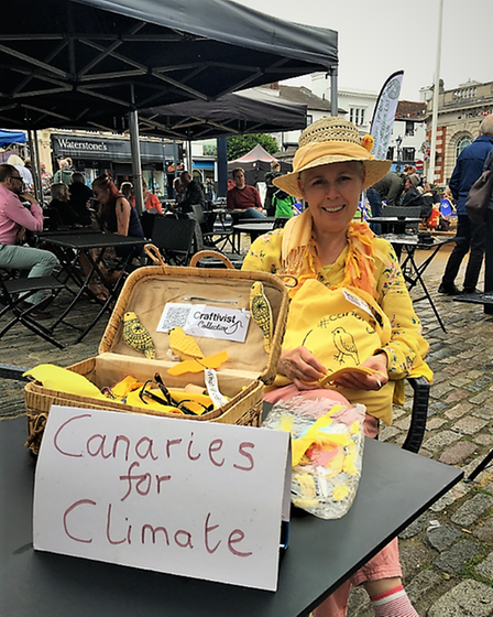 Canaries for Climate