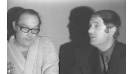 Rare interview footage of Eric Morecambe and Ernie Wise