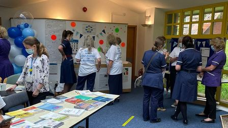 Events have taken place at Torbay Hospital and in Brixham to officially launch the programme.