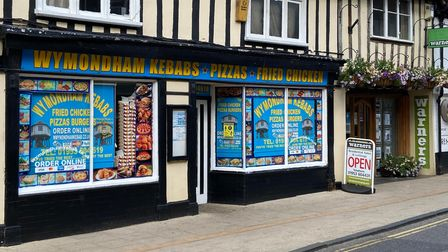 Wymondham Kebab, on Market Street, has gone from a 1-star food hygiene rating to 5