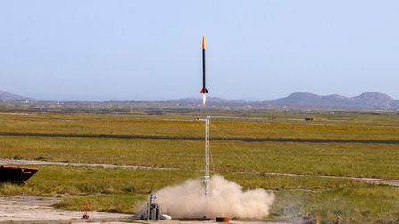 Gravitis space port first commercial rocket launch