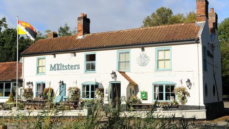 The Maltsters pub in Ranworth. Picture: James Bass