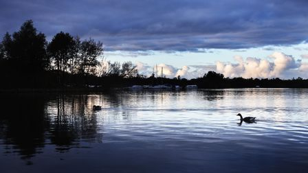 A peaceful evening on Ranworth Broad.Picture: ANTONY KELLY
