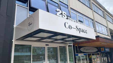 The new Co-Space workspace in Stevenage town centre