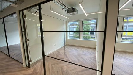 An office at the new Co-Space in Stevenage