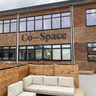 The roof terrace at the new Co-Space in Stevenage