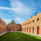 The innovative Holmes Road Studios designed for Camden by Peter Barber Architects