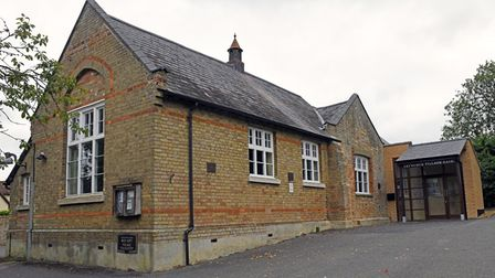 The village hall in Catworth was formally a school.