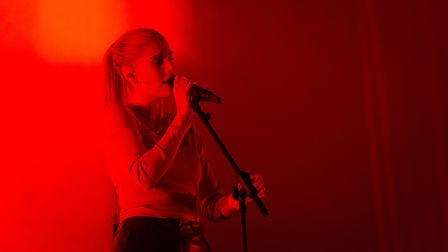Hannah Reid from London Grammar at All Points East