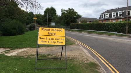 There will be roads closed around Hatfield Train Station inOld Hatfield on Sunday, September 5 for the Slam Dunk Festival