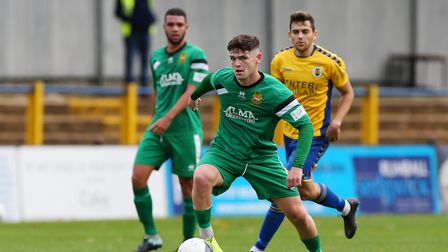 An early goal from Luke Brown was as good as it got for Hitchin Town as they lost away to Banbury United.