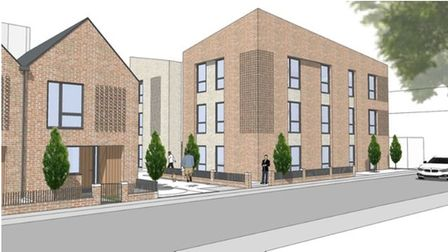 There are plans to build new council homes on the former BT site in Bibb Way, Ipswich.